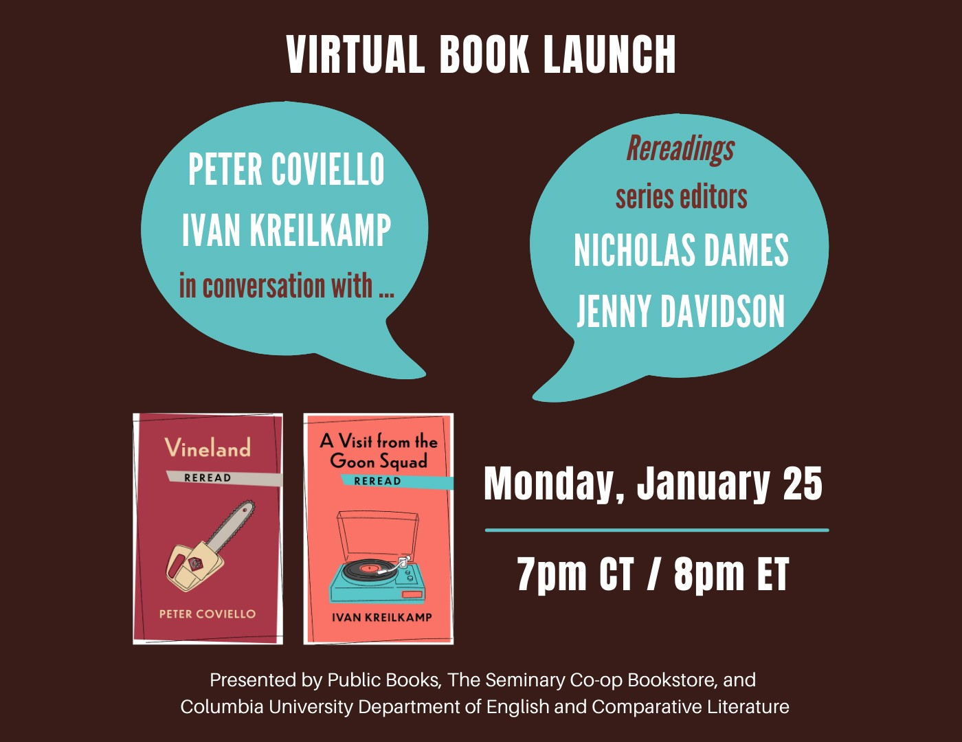 Virtual Book Launch