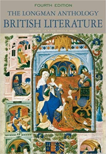 The Longman Anthology of British Literature, Volume 1, 4th Edition